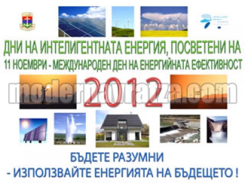 """""""ДНИ НА ИНТЕЛИГЕНТНАТА ЕНЕРГИЯ 2012"""" ОЧАКВАТ В ЛОМ"""