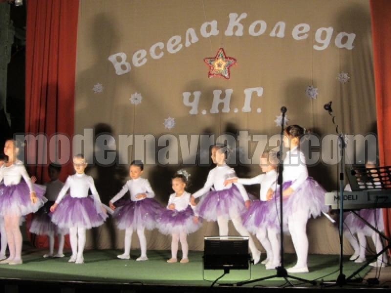 КОЛЕДЕН КОНЦЕРТ НА ТАЛАНТЛИВИ ДЕЦА В БЕРКОВИЦА