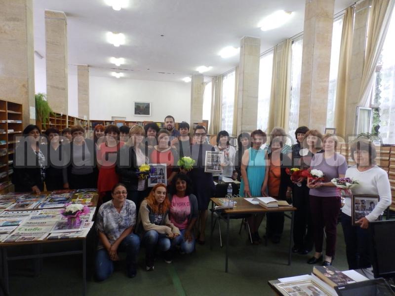 ЗАВЪРШИ ОБУЧЕНИЕТО ЗА БИБЛИОТЕЧНИ СПЕЦИАЛИСТИ В РБ