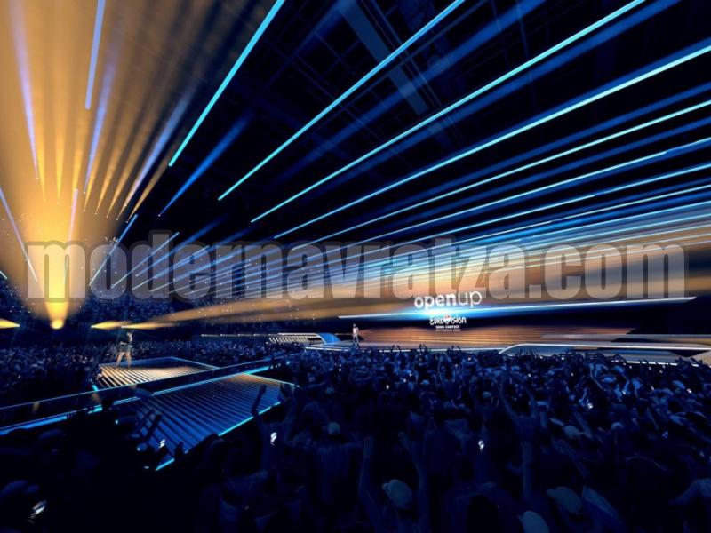 ПРЕДСТАВИХА ДИЗАЙНА НА СЦЕНАТА НА ЕВРОВИЗИЯ 2020