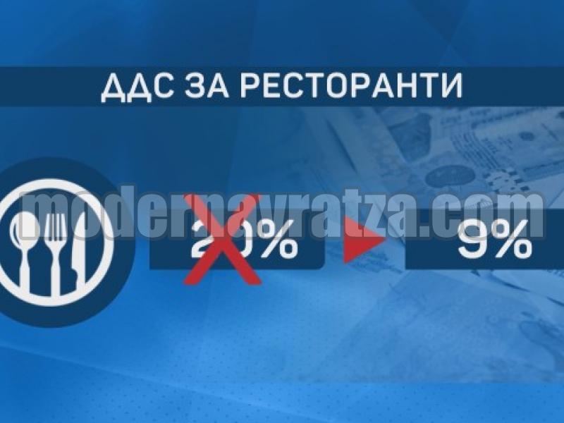 9 % ДДС ЗА РЕСТОРАНТЬОРИ, КНИГОИЗДАТЕЛИ И ТЪРГОВЦИ НА БЕБЕШКИ СТОКИ ОТ 1 ЮЛИ